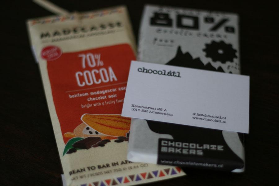 Chocola met een omweg
