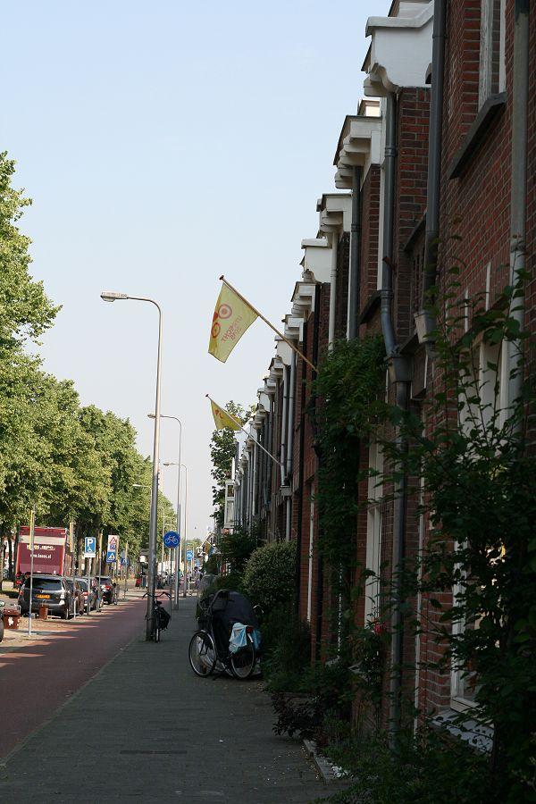 Vlaggen aan de Croeselaan