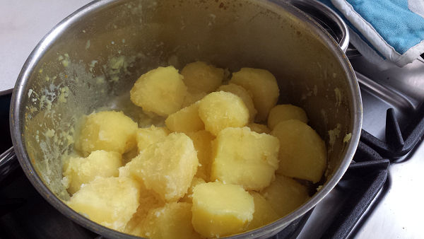 fluffy aardappels