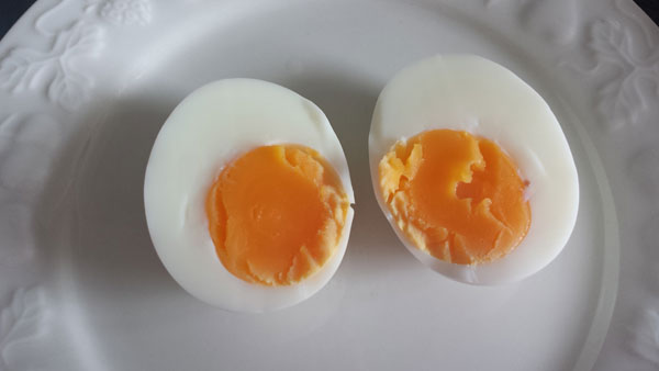 Perfect gekookt eitje