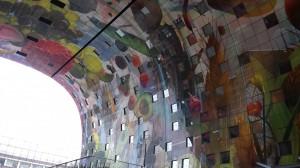 decoratie markthal Rotterdam