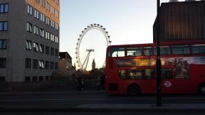 London Eye en Big Ben gezien vanaf Waterloo