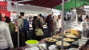 Overdekte food hall Brick Lane