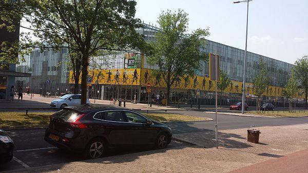 Utrecht fietst op het Grafisch Lyceum